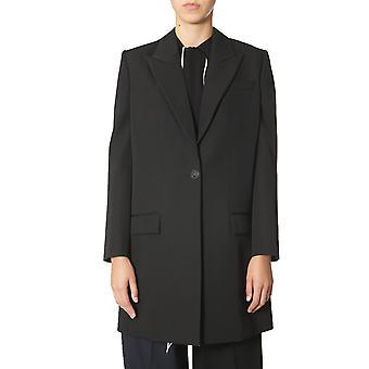Givenchy Bwc04g11bn001 Frauen's Schwarze Wolle Blazer