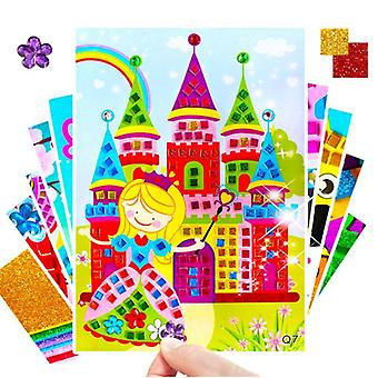 3d Puzzle -crystal Crafts Toy, Mosaic Sticker