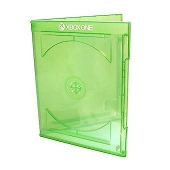 Vervanging retail game case voor microsoft xbox one cover lege doos een schijf - 10 pack | zedlabz