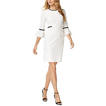 Calvin Klein | Bell-Sleeve Sheath Dress
