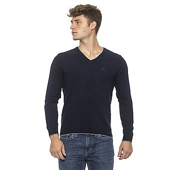 Blue Sweater Conte of Florence man