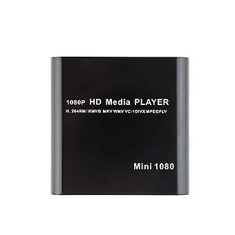 Mini Full Hd 1920x1080p Media Player With Remote Control (eu Plug)