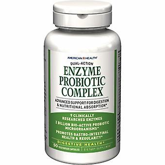 American Health Enzyme Probiotic Complex, 90 Vcaps