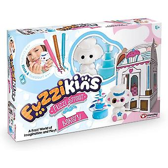 Fuzzikins Fuzzi Street Cupcake Bakerys, for age 4 years and up- multicolor