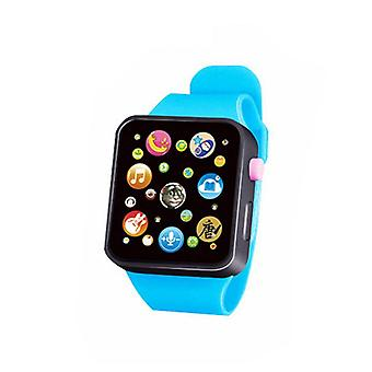 Children's Multifunctional Music, 6 Color Digital Simulation Smart Watch- Touch