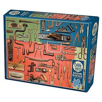 Cobble hill puzzle - tools - 500 pc