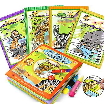 Magic Water Drawing Books, Coloring Reusable Early Learning