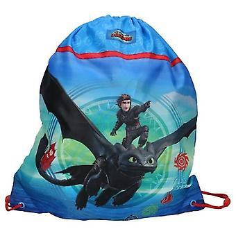 How To Train Your Dragon 3 Gym Bag Children's Bag 44x37cm