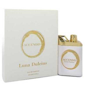 Accendis لونا Dulcius بواسطة Accendis Eau De Parfum Spray (للجنسين) 3.4 أوقية (نساء) V728-550428