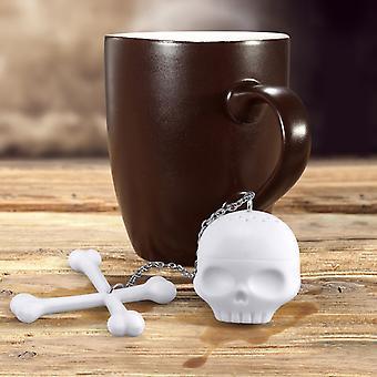 Skull Bones Shaped Tea Infuser