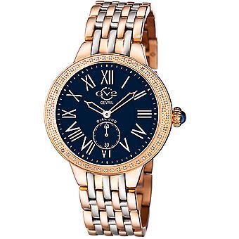 GV2 Astor Women's Blue Dial  Two tone watch