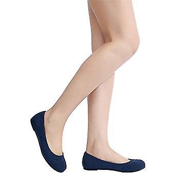 Ataiwee kvinner's ballett leiligheter - enkel casual koselig runde tå slip-on walking ...