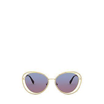 Miu Miu MU 59VS oro gafas de sol femeninas