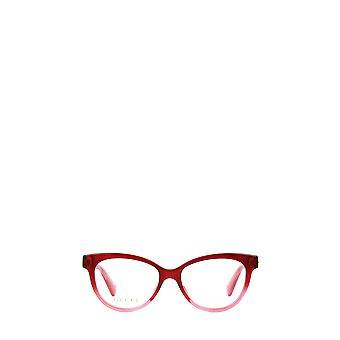 Gucci GG0373O røde kvindelige briller