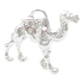 Camel Sterling Silver Charm .925 X 1 Camels Ships Of The Desert Charms - 385
