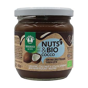Nut and Coconut Cream 400 g of cream