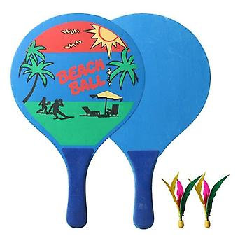 Styret Beach Badminton Racket og ball sett