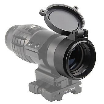 Rifle Scope Lens Cover Flip Up Quick Spring Protection Cap