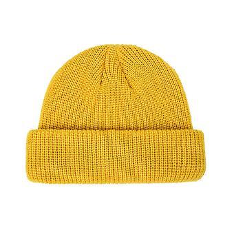 Winter Warm Beanies Hat, Casual Short Hip Hop Cap For Adult Men