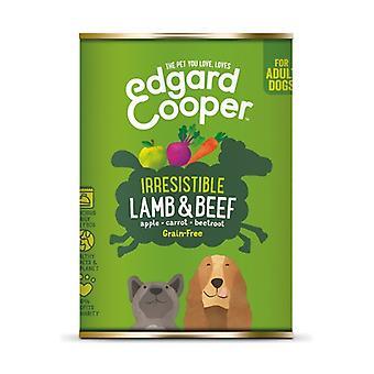 القصدير يمكن للحوم الضأن ولحوم البقر الكلاب 400 غرام