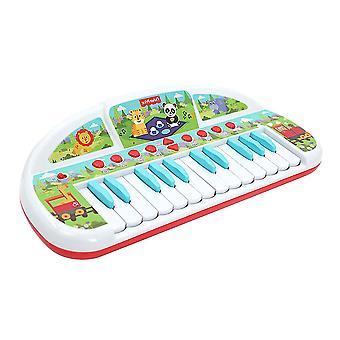 YANGFNA Kinder elektronische Tastatur Klavier tragbare Musikinstrumente