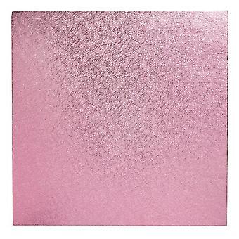 "8"" (203mm) Cake Board Square Light Pink - single"