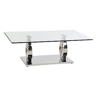 Table latérale Dekodonia PRAISE Crystal Steel (130 x 70 x 42 cm)