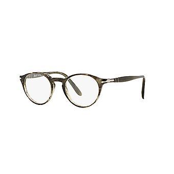 Persol PO3092V 1020 raidalliset harmaat lasit