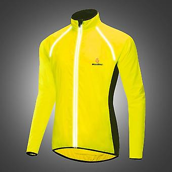 Reflective Windbreaker Running Long-sleeved Jersey Outdoor Windproof Jacket