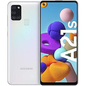 Samsung Galaxy A21s Android Smartphone ohne Vertrag, 4 Kameras, 5.000 mAh Akku, 6,5 Zoll HD+