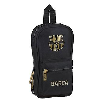 Pencil Case Backpack F.C. Barcelona 20/21 Black (33 Pieces)