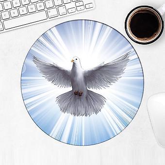 هدية Mousepad : حمامة الروح القدس الكاثوليكية