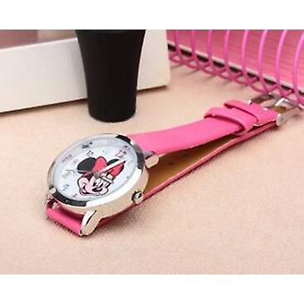 Colorful Watch, Cartoon Clock, Mickey Cute Watches, Lovely Kids
