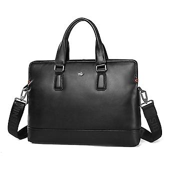 Fashion Men's Briefcase, Leather Business Handbag