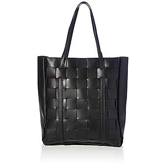 PIECES PCMIRA Shopper D2D, Woman, Black, One Size