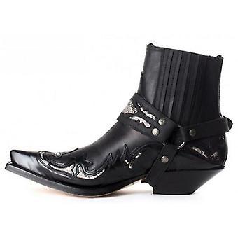 Vintermode Män Av högsta kvalitet Pu Läder Slip-on Stövlar