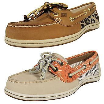 Sperry Womens Firefish Lace Up Moc Toe Boat Shoe