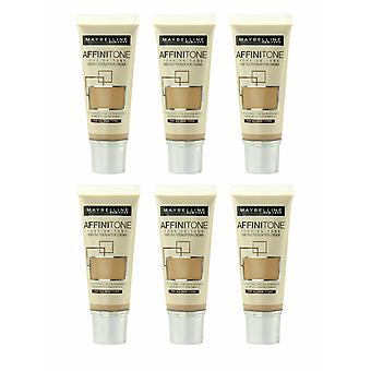 Maybelline Affinitone Unifying Foundation Cream 30ml - Various Shades