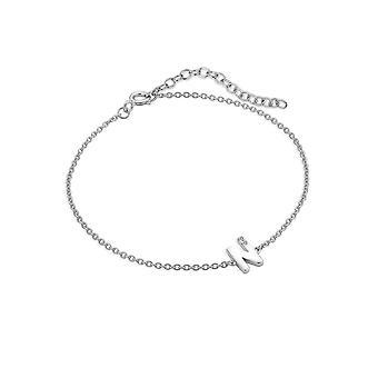 Hot Diamonds Diamond Letter N Bracelet DL625