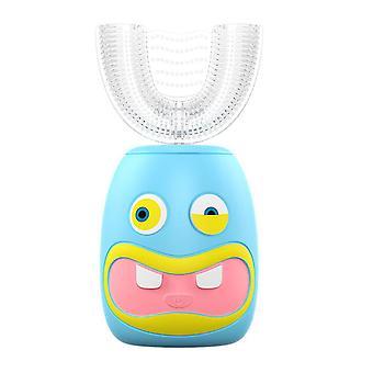 الأزرق الأطفال فرشاة الأسنان الكهربائية £ ¬ على شكل 360 ã فرشاة الأسنان التلقائية للأطفال az9340