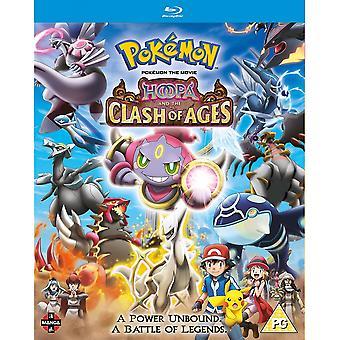 Pokemon filmen: Hoopa och clash of ages blu-ray