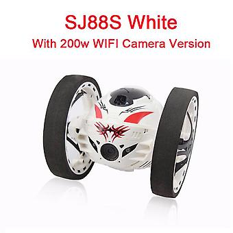 New upgrade version jumping bounce car sj88 rc s 4ch 2.4ghz  sumo   w flexible wheels remote control robot