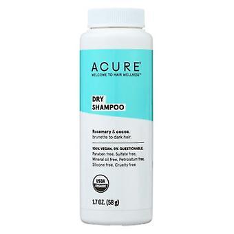 Acure Dry Shampoo for Brunette to Dark Hair, 1.7 Oz