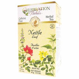 Celebration Herbals Organic Nettle Leaf Tea, 40 grams