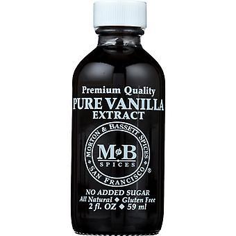Morton & Bassett Extract Vanilla, Caso de 3 X 2 Oz
