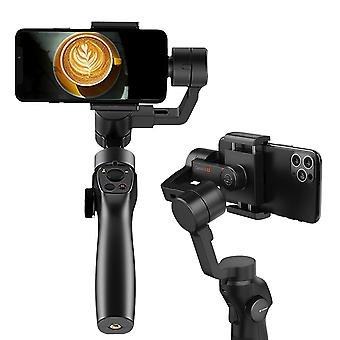 Handheld gimbal stabilizer for smartphone action camera 3-axis bluetooth video record smartphone gopro selfie stick holder