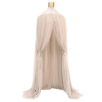 Mosquito Net Hanging Tent Baby Bed Crib Canopy Tulle Curtains for Bedroom Play House Tent for