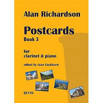 Postcards Book 3 For Clarinet & Piano Alan Richardson Ed: Jean  Cockburn