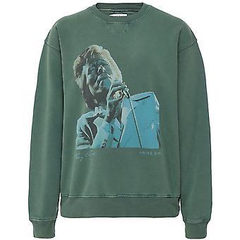 Anine Bing Ramona Bowie Organic Cotton Sweatshirt