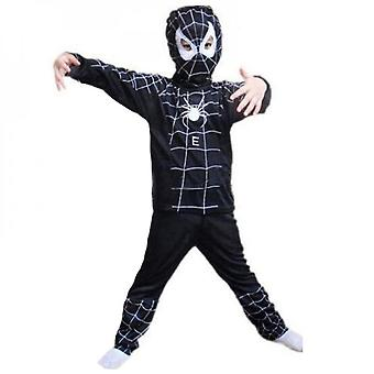 Halloween Kids Boy Spiderman Cosplay Costume Outfit Set Fancy Dress Up